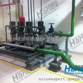 高层水泵噪声治理