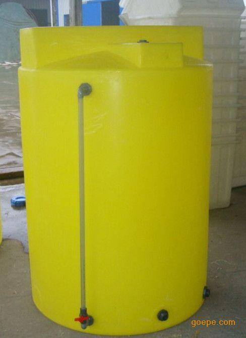 供应1000升加药桶 PE加药箱1吨搅拌加药箱 水处理设备搅拌桶