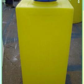 80升塑料搅拌罐80L加药桶 80LPE加药箱