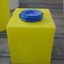 40LPE加药箱 方形加药箱 40升溶药箱 环保加药箱40L