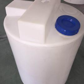 300L PE加药箱 搅拌罐 投药桶 计量箱 药剂桶 耐酸碱加药罐