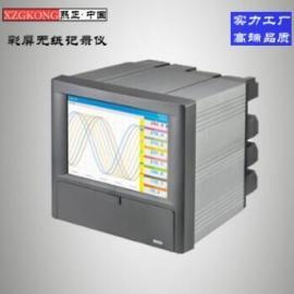 彩色无纸记录仪 彩色 万能输入彩色无纸记录仪 温度记录仪