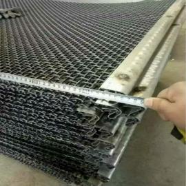 矿山、电厂锰钢丝轧花网、不锈钢筛网1×20米卷网