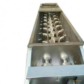 中冶 SJ双轴粉尘加湿搅拌机 搅拌效率高