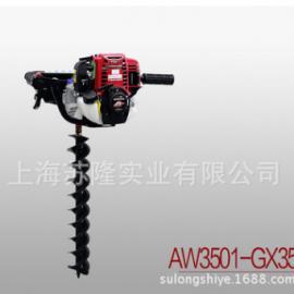 原装本田GX35 动力种植机、挖地钻、本田HONDA GX35挖坑机
