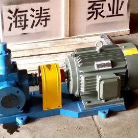 YCB系列圆弧齿轮泵,圆弧泵噪音低,性能耐磨耐用