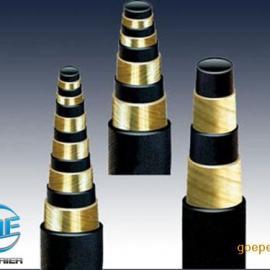 二/四/六/层 高压钢丝缠绕胶管型号尺寸齐全-开外尔