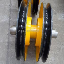 16t铸钢轧制滑轮 起重滑轮组 吊钩组用滑轮组 行车滑轮组