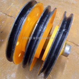20t夹轮带轴承滑轮组 导绳轮 滑车滑轮组 热轧滑轮组 可定制