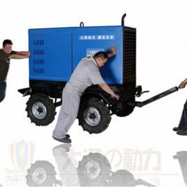 400A柴油发电电焊机静音式大泽动力