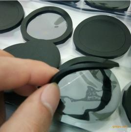 厂家专业定制黑色网格硅胶防滑垫 3M单面带胶防滑垫 硅胶垫片