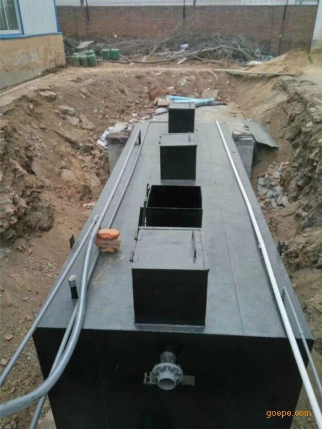 供应贵州地区一体化生活污水处理设备
