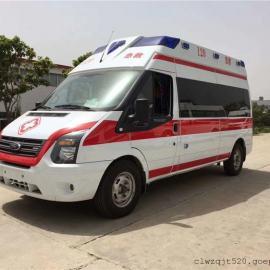 江铃福特V348普通运输型救护车