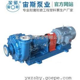 耐磨耐酸矿浆泵