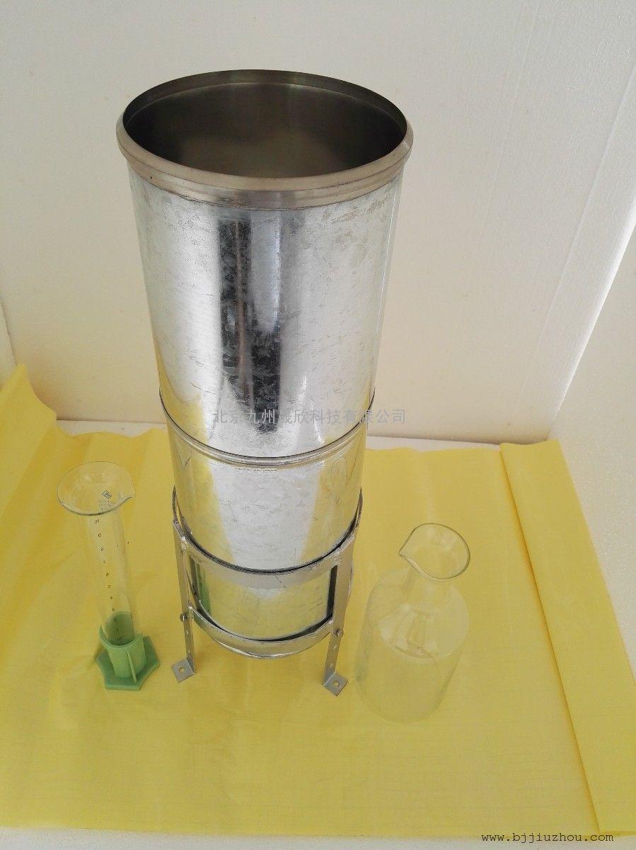 不锈钢雨量器、人工雨量计、量杯、量筒