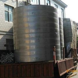 厂家源头供应6T圆柱形双层不锈钢保温水箱
