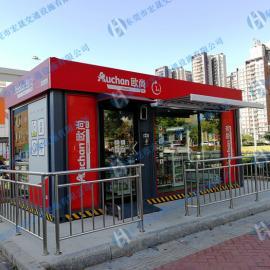 广州番禺无人便利店制作,白云机场无人值守超市生产厂家