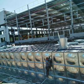 2018地埋水箱 屋顶箱泵一体化水箱 大模块抗浮地埋水箱