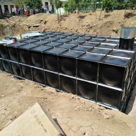 2018地埋水箱 屋顶箱泵一体化水箱 抗浮力地埋水箱