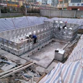 新 疆 乌鲁 木齐 和 田地埋消防水箱 过车设计抗浮地埋水箱