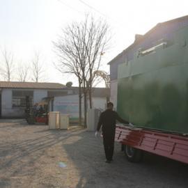 300t/d地埋式一体化污水处理装置