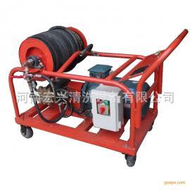 高压清洗机 根雕崖柏树皮清除设备 旋转喷头式高压水清洗机