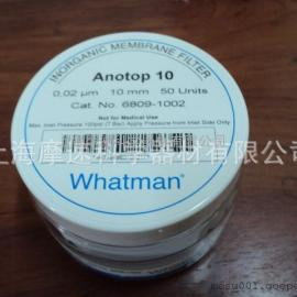 上海摩速代理Whatman Anotop �o�C膜6809-1002��^�V器