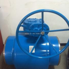 供热管道球阀 法兰全焊接球阀 蜗轮焊接球阀 锻钢全焊接球阀