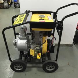 电启动4寸柴油自吸泵