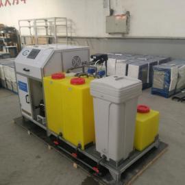 次氯酸钠发生器游泳池消毒装置原理说明