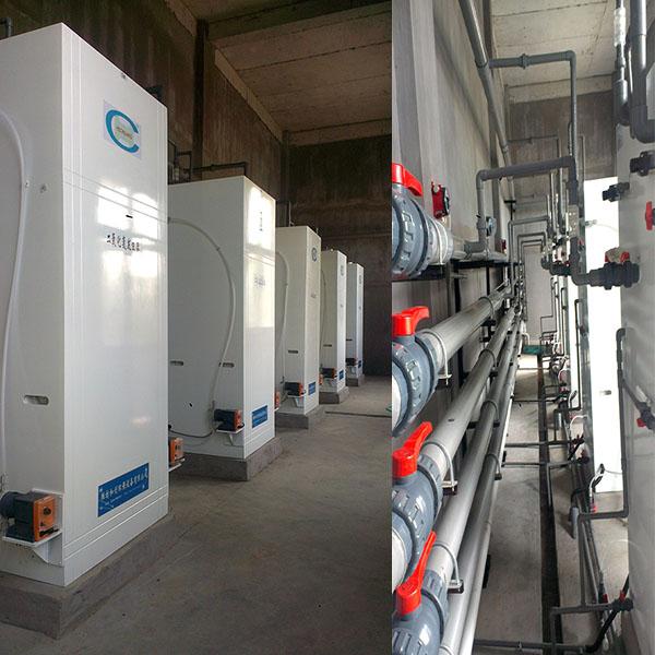 河北二氧化氯发生器/工业污水消毒设备