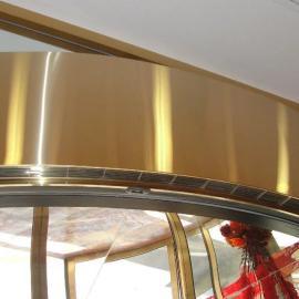 供应轴流式低噪音弧形空气幕 轴流弧形风幕机 弧形轴流热风幕机