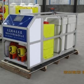 广西PLC控制次氯酸钠发生器/电解盐制氯设备