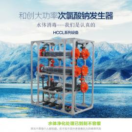 饮水消毒设备次氯酸钠发生器反应原理