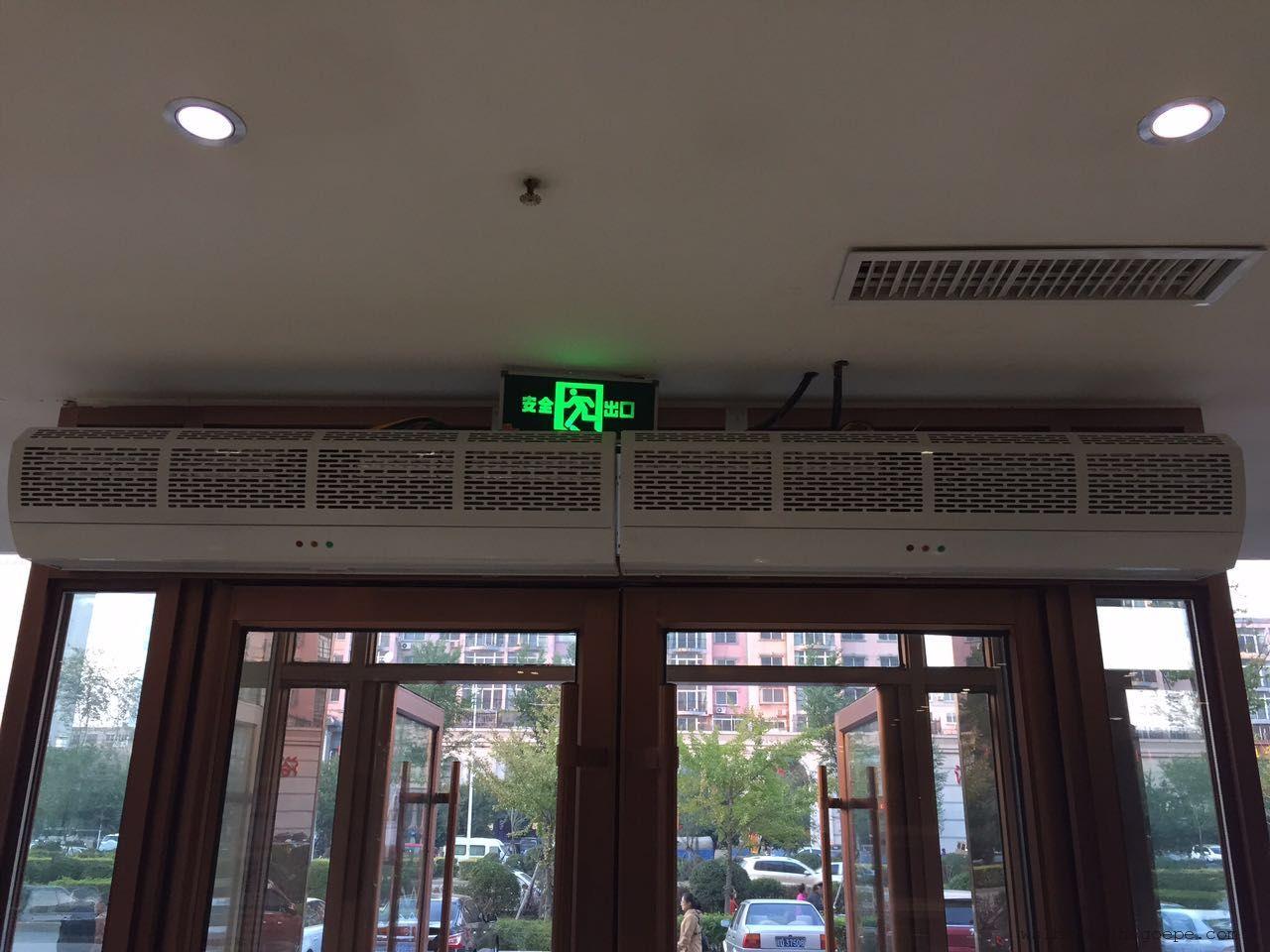 节能贯流热风幕 省电贯流热风幕机 静音贯流热风幕机 环保风幕机