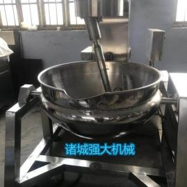 诸城行星搅拌锅 高粘度食品专用锅 自动搅拌夹层锅