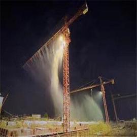工地塔吊喷淋安装|智捷建筑工地围挡喷淋