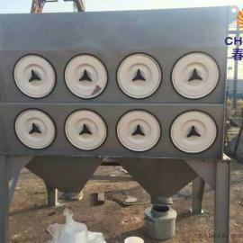 石灰料仓仓顶除尘器24个滤筒水泥罐仓顶除尘器原理选购方案