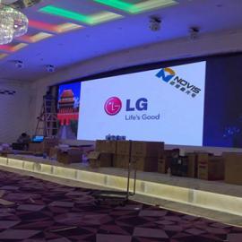 婚庆舞台P4全彩LED显示屏生产厂家