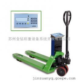 狄纳乔TPWLK手动叉车秤可选抽拉式可充电电池