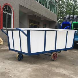 直销侯马K1500L塑料方箱方型带盖养殖箱滚塑容器