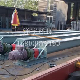 石油泥浆不落地螺旋输送机可根据用户要求制作
