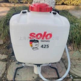 德国索逻喷雾器 solo425背负式打药机 16L手动喷雾器