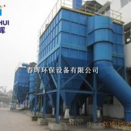 山西砖厂煤矸石破碎机专用大风量布袋除尘器节能方案