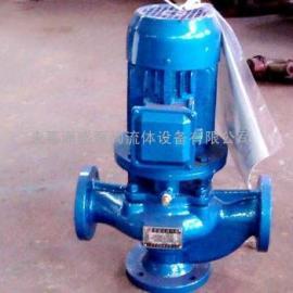 GW管道式排污泵无堵塞排污泵管道排污水泵 GW50-15-30-3KW