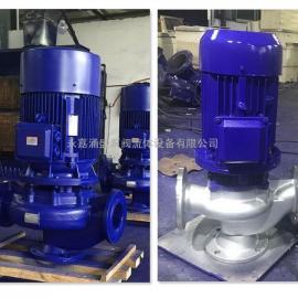 GW管道式排污泵无堵塞排污泵管道排污水泵 65GW37-13-3KW