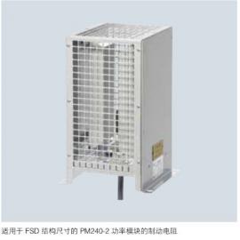 西门子 S120 功率模块制动电阻