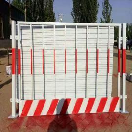 希望基坑围栏网图片-现货工地基坑临时护栏网竖管基坑防护网定制