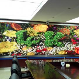 前台高清全彩led显示屏安装厂家