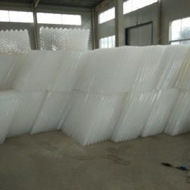 鹤岗蜂窝斜管填料//高效沉淀池蜂窝斜管厂家价格